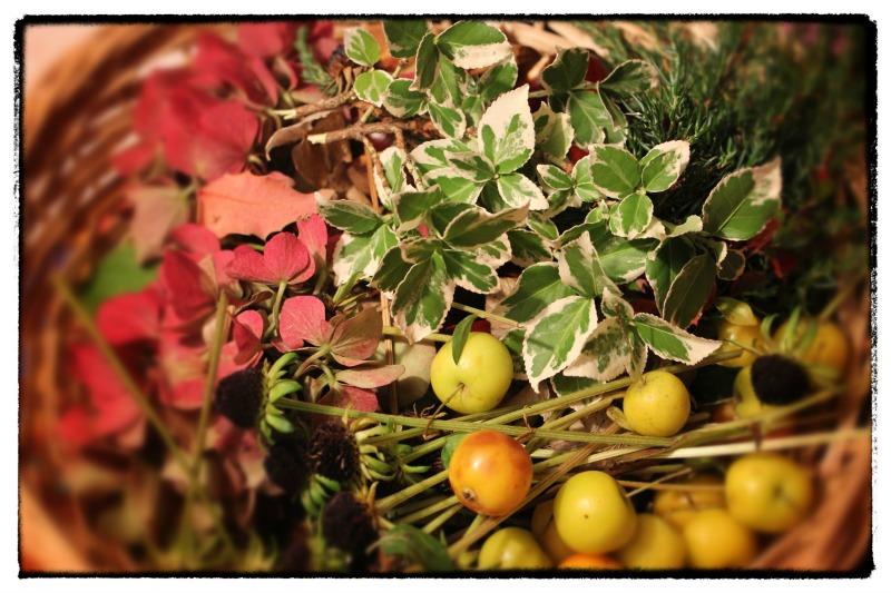 Herbstdekoration für zuhause