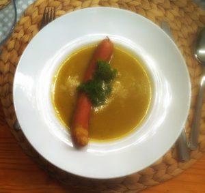 Und die Wurst kommt dann doch in die Suppe