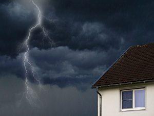 Regen und Blitze im Wohnzimmer...