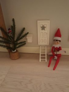 hier wohnt ein kleiner Julenissen