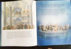 das Weihnachtsoratorium als stimmungsvoll illustriertes Bilderbuch