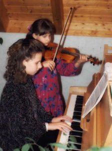 Familienmusik auf der Violine - la-luna-Familienmusik