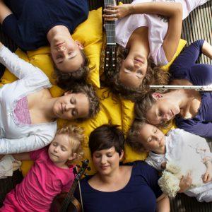 entspannen mit Musik - la-luna-Familienmusik