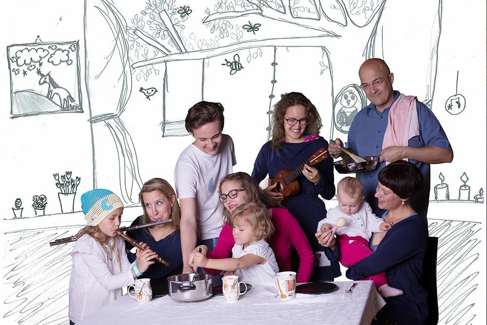 Musik in der Familie - Essen