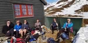Pause nach Skitag in Norwegen_Ostern