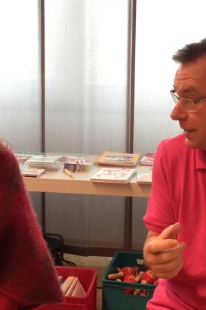Sara-Estelle und Wolfgang Hering Interview