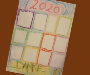 Danke Kalender 2020