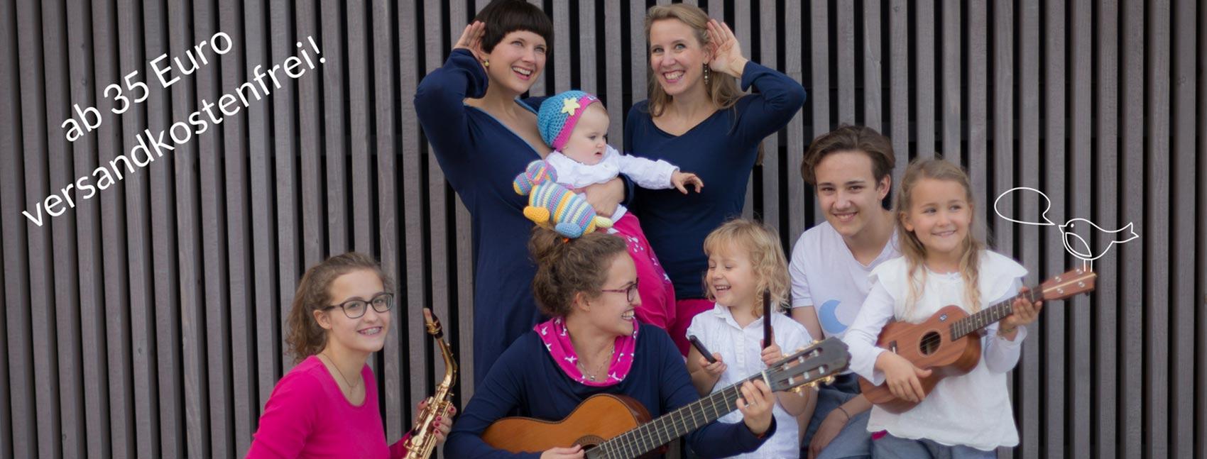 Holt Euch Musik in die Familie